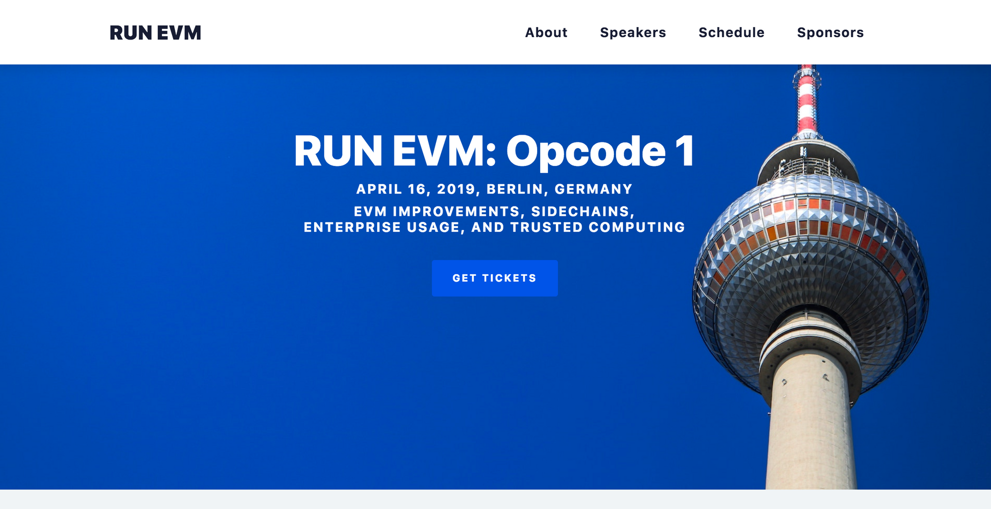 RUN EVM Wrap Up