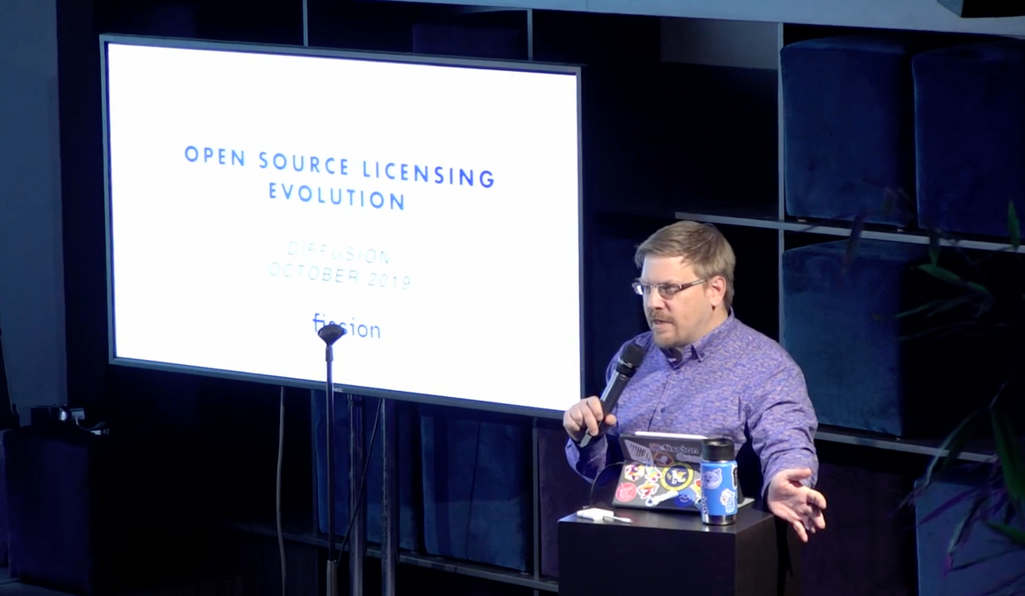 Open Source Licensing Evolution at Diffusion 2019