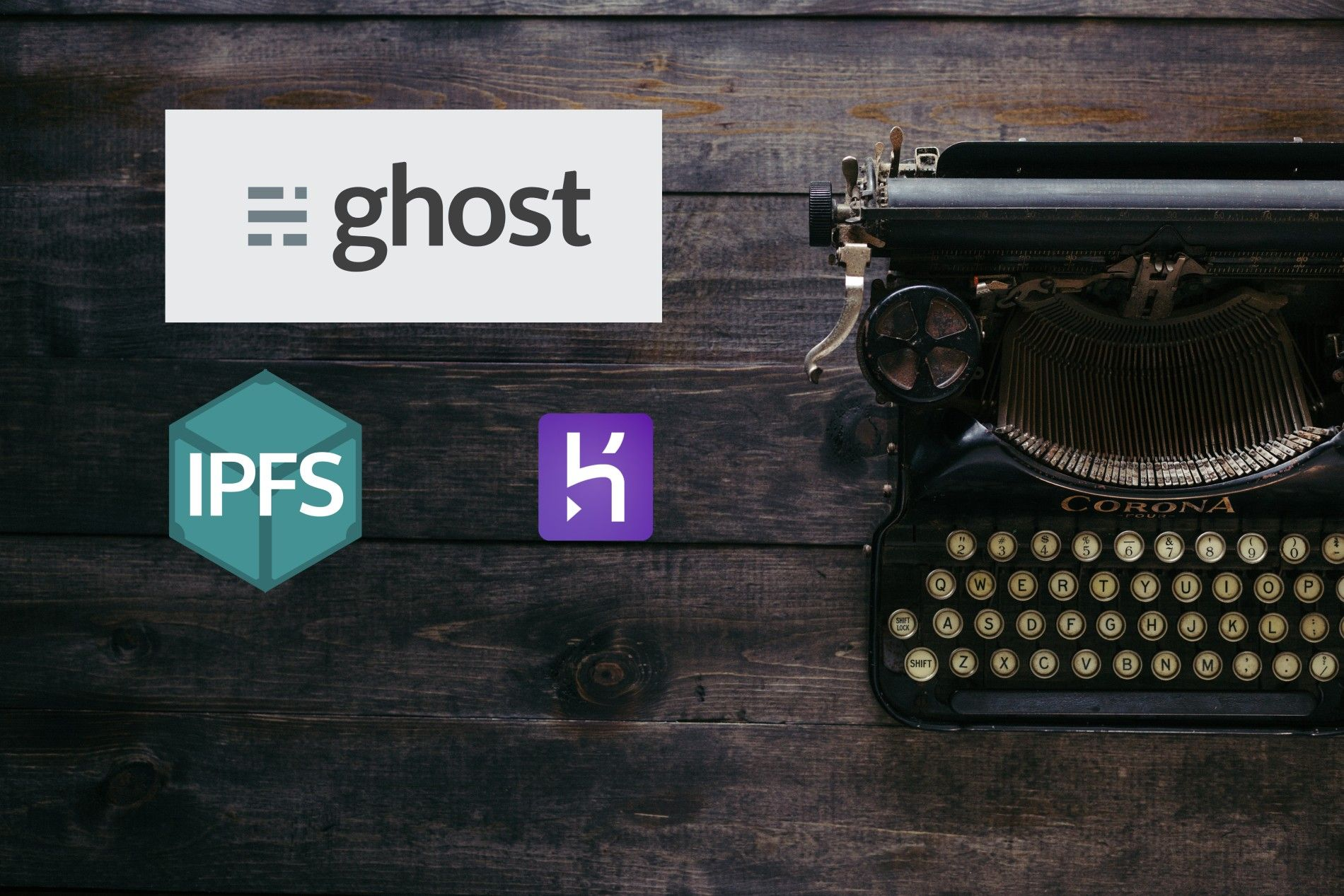 IPFS Storage Adapter for Ghost Blog with Heroku Deploy