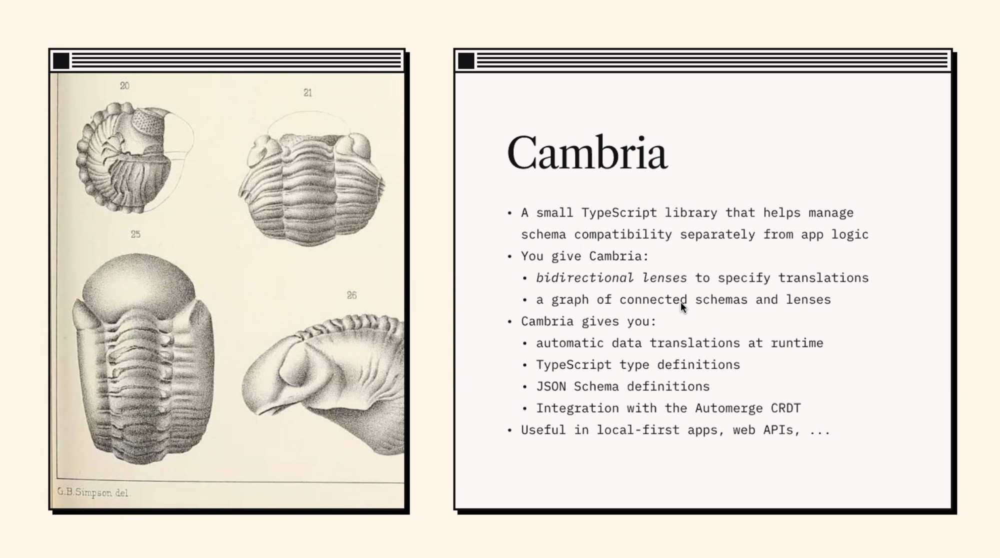Project Cambria Overview with Geoffrey Litt and Peter van Hardenberg