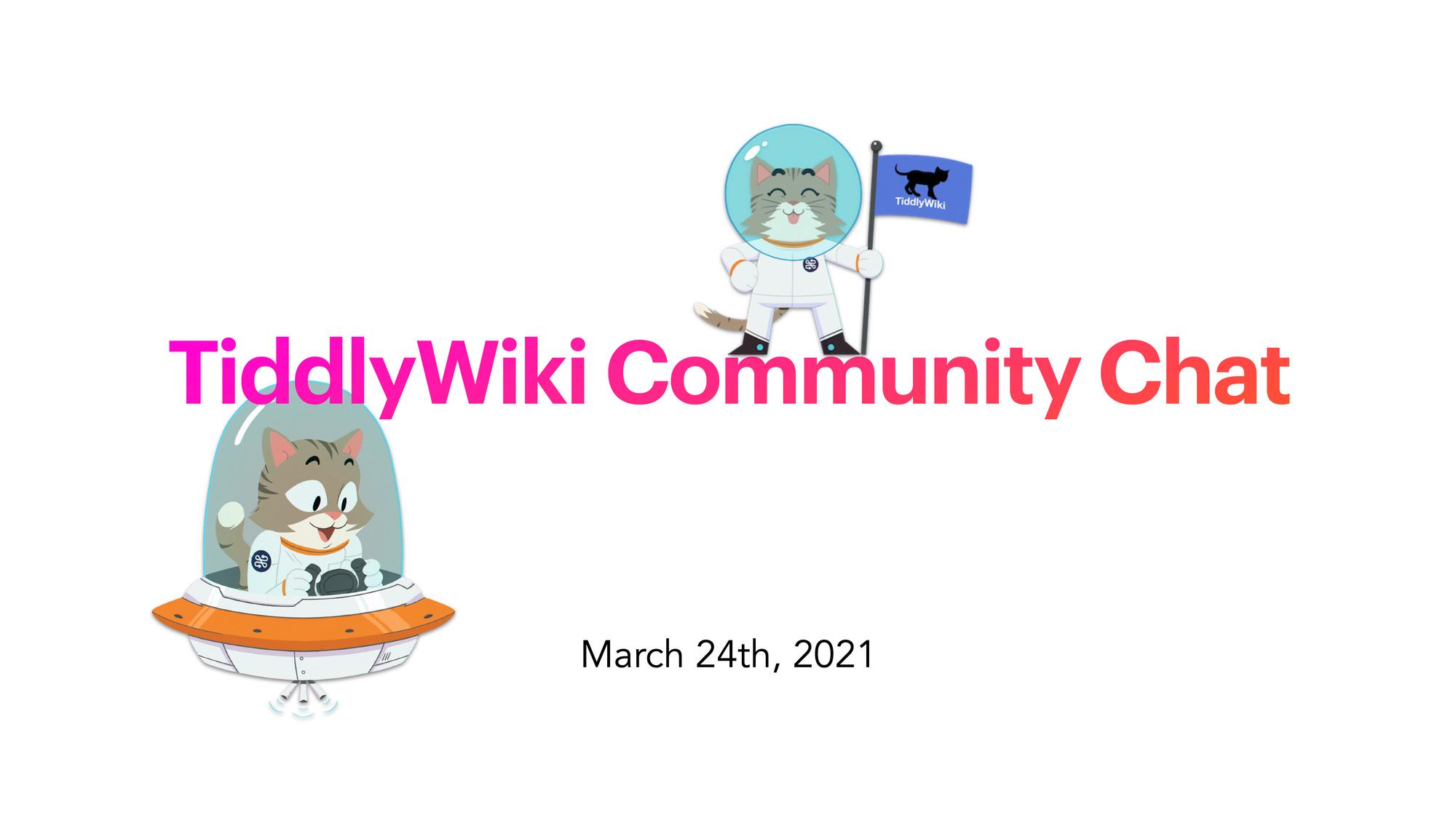 TiddlyWiki Community Chat